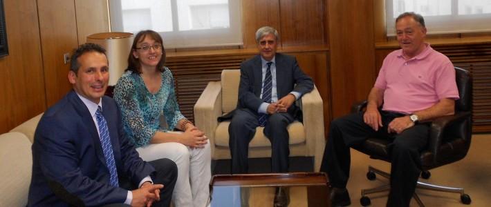 CEVE se reune con el Consejo General de Colegios Veterinarios