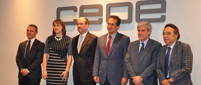 Presentación oficial de la CEVE en la CEOE