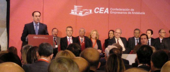 Toma de posesión de la nueva Junta Directiva de la Confederación de Empresarios de Andalucía (CEA)